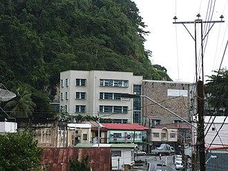 Presentation College, San Fernando - Presentation College San Fernando captured from Lord Street, San Fernando