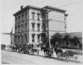 San Francisco Earthquake of 1906, (Hamilton School. Headquarters of the National Red Cross) in the vicinity of... - NARA - 531071.tif