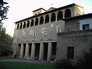 San Saba, Rome - Facade