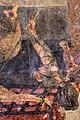 San lorenzo in insula, cripta di epifanio, affreschi di scuola benedettina, 824-842 ca., martirio di san lorenzo 05 carnefice.jpg