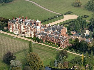 Country house in Norfolk, England, private home of Queen Elizabeth II