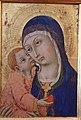 Sano di pietro, madonna col bambino, 1450-80 circa, da s. cerbone a montorsaio 02.JPG
