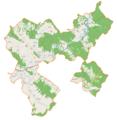 Sanok (gmina wiejska) location map.png