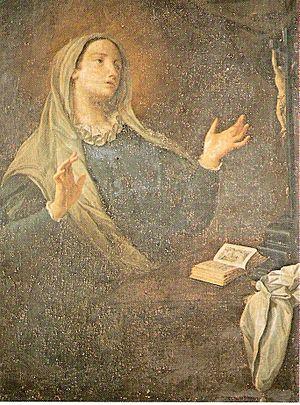 Catherine of Genoa - Image: Santa Caterina Fieschi Adorno dipinto Giovanni Agostino Ratti