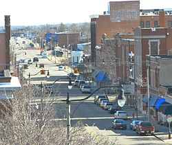 Downtown Sapulpa in 2011