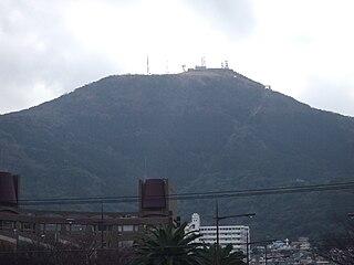 Mount Sarakura mountain in Japan