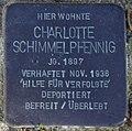 Sassnitz, Mittelstr. 5, Stolperstein Charlotte Schimmelpfennig.jpg