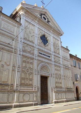 Santa Teresa del Bambin Gesù, Parma - Image: Satna Teresa del BG Parma