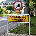 Schëld Schwéidsbeng, CR152F Rue du Port.jpg