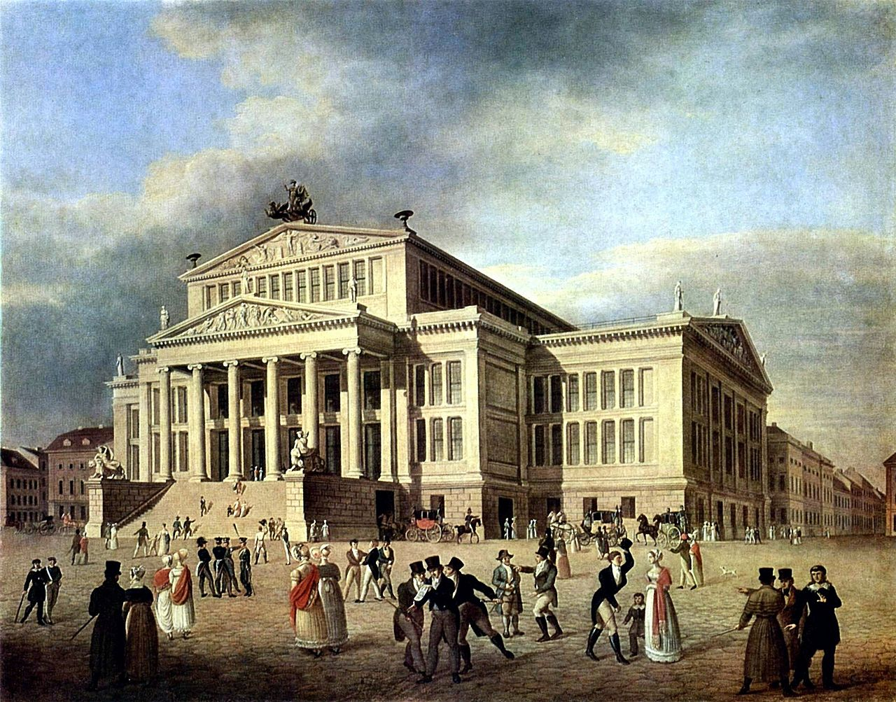 Datei schauspielhaus berlin um wikipedia for Architektur romantik