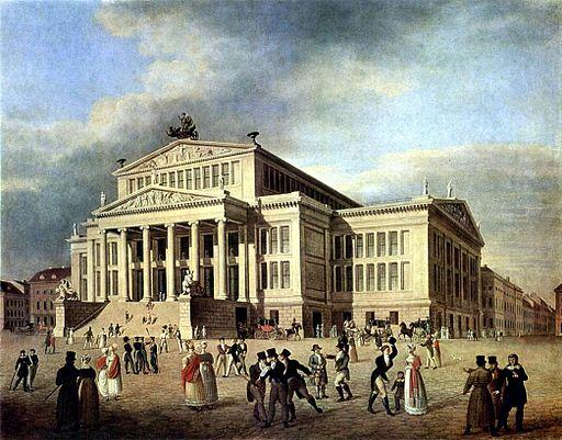 Schauspielhaus Berlin um 1825