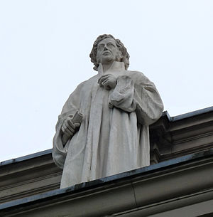Friedrich Schleiermacher - A statue of Schleiermacher at Palais Universitaire in Strasbourg
