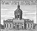 Schleuen - Reformierte Schloss und Dohm-Kirche 1757.jpg