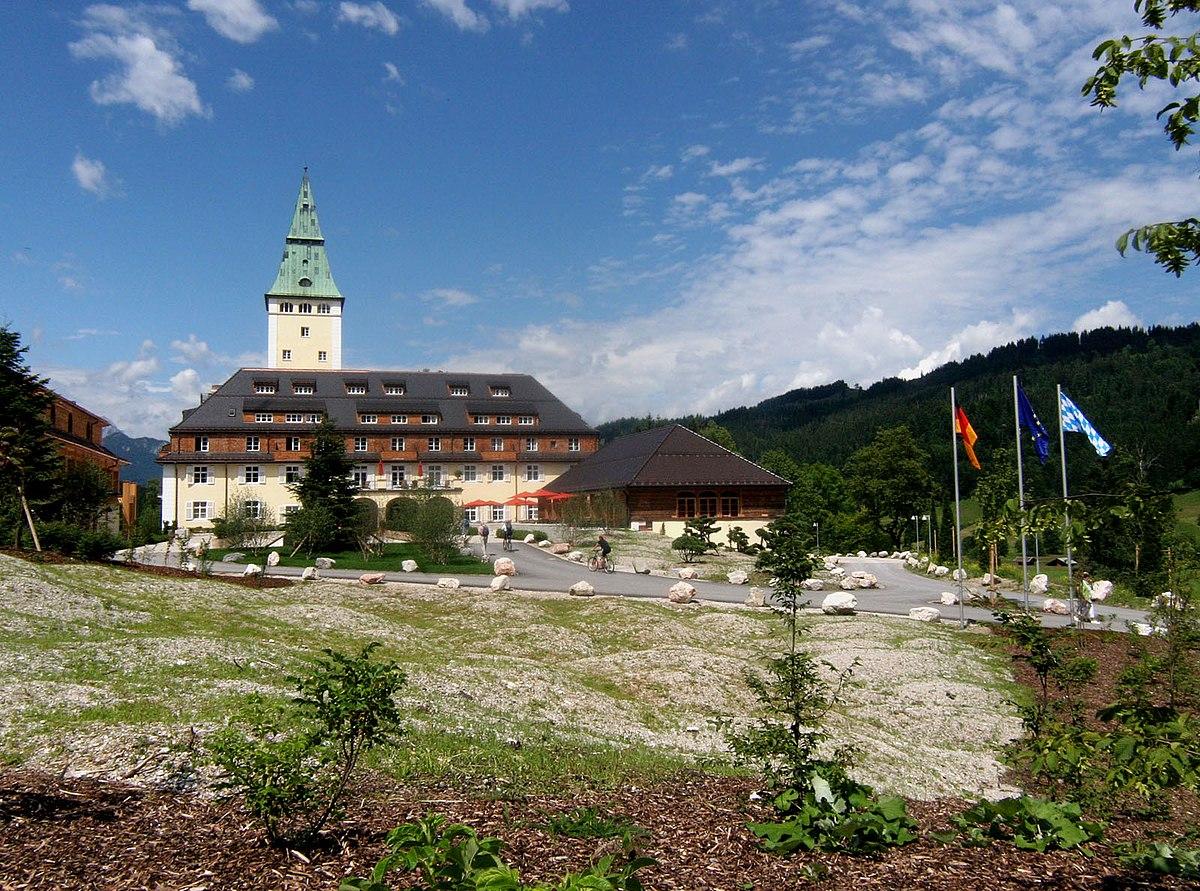 Schloss Elmau – Wikipédia