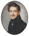 Schoeller – Young man with a moustache and dark curls.png
