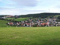 Schonach seen from the south