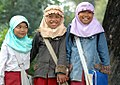 Schoolgirls in Bandung, Indonesia; August 2006 (1).jpg
