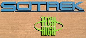 SciTrek -  Old Tech High Sign