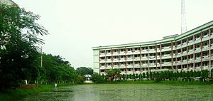 Jatiya Kabi Kazi Nazrul Islam University - Science Building