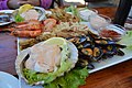Seafood platter at Trennerys Hotel on the Wild Coast (9261400916).jpg