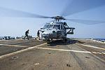 Seahawk prepares to take off from USS Truxtun 140930-N-EI510-115.jpg