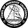 Seal of Paradise, California.png