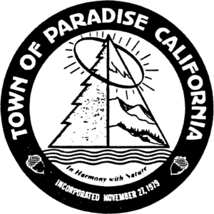 Paradise, California - Image: Seal of Paradise, California