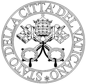 Fundamental Law of Vatican City State - Image: Seal of the State of Vatican City