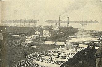 Seattle-Tacoma Box Company - Stetson-Post Mill ca 1900