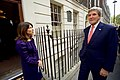 Secretary Kerry Speaks With Dr. Balisciano After Arriving at the Benjamin Franklin House in London (30056454303).jpg