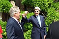 Secretary Kerry and Ambassador Thorne Bump Fists.jpg