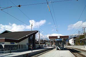 Seefeld in Tirol - Seefeld in Tirol railway station