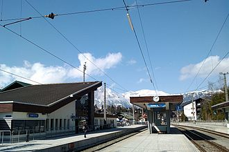 Seefeld in Tirol - Seefeld in Tirol railway station