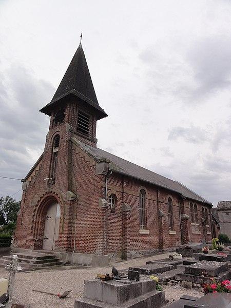 Sequehart (Aisne) église