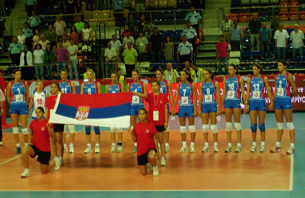 Serbia women's national volleyball team 2010