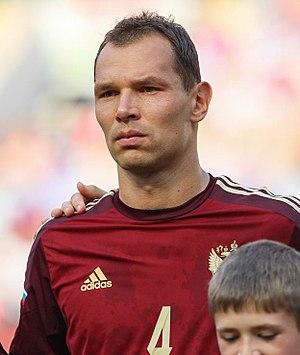 Sergei Ignashevich - Ignashevich with Russia in 2014