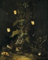 Serpent and Butterflies in the Woods (Otto Marseus van Schrieck) - Nationalmuseum - 17507.tif