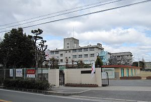 Settsu City Settsu 3rd Junior High School.JPG