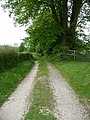 Shalbourne - Path To St Michael and All Saints - geograph.org.uk - 1450588.jpg