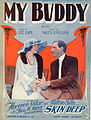 Sheet music cover - MY BUDDY - SONG (1922).jpg