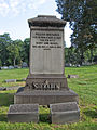 Sheraden Monument, Chartiers Cemetery, 2015-07-26, 02.jpg