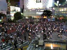ファイル:Shibuya Crossing.ogv