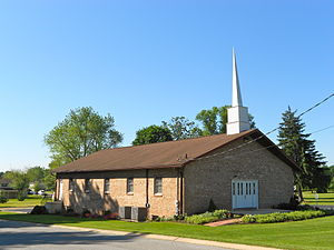 West Manchester Township, York County, Pennsylvania - God's Missionary Church in Shiloh