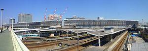 Shin-Ōsaka Station - Shin-Osaka station building in 2011