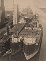 Ships docked in Goderich Harbour, date unknown - 42192146551.jpg