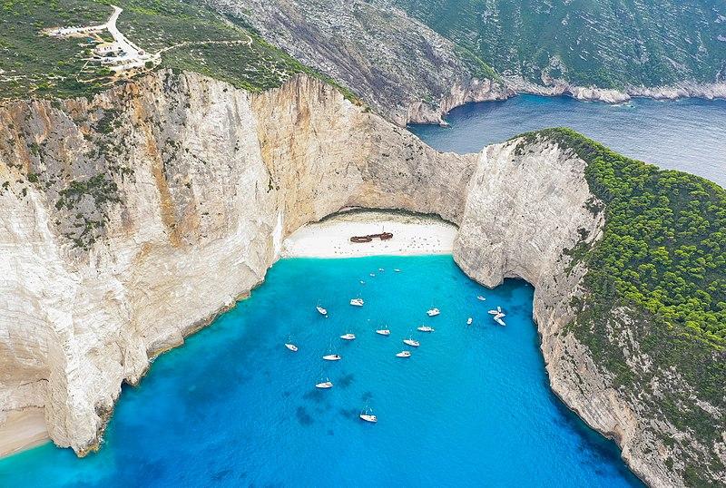 File:Shipwreck at Navagio Beach Zakynthos Greece (45557496695).jpg