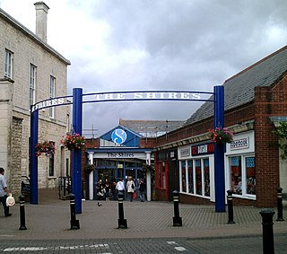 The Shires Shopping Centre shopping centre in Trowbridge, England
