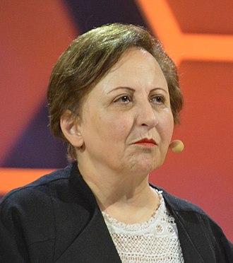 Shirin Ebadi - Shirin Ebadi in 2017