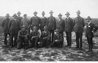 Shooting at the 1920 Summer Olympics - The Swedish team