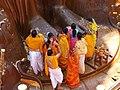 Shravanbelgola Gomateshvara feet prayer.jpg